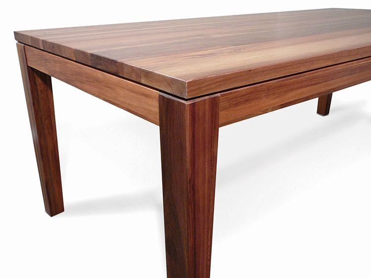 Hamilton Tasmanian Blackwood 2200 Dining Table Timber  : 4151 from www.ebay.com.au size 750 x 563 jpeg 39kB