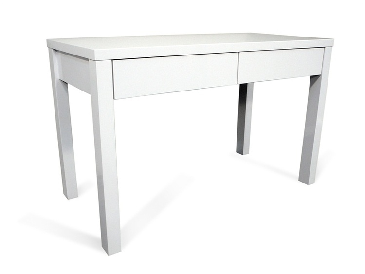matrix study office desk high gloss white buy matrix high office