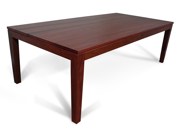hamilton 2400 jarrah dining table living elements