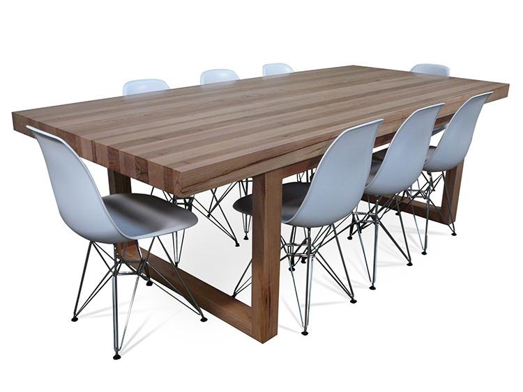Dining table tasmanian hardwood