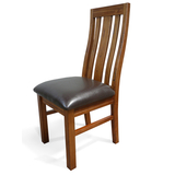 Sorrento Ash Dining Chair with Seat Pad
