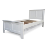 Lilydale White Single Bed