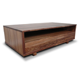 Manhattan Tasmanian Blackwood 2 Draw Coffee Table Rect