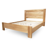 Manhattan Chestnut Timber Queen Bed