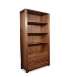 Lumino Tasmanian Blackwood 2 Drawer Bookcase