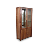 Lumino Tasmanian Blackwood 2 Door Display Cabinet