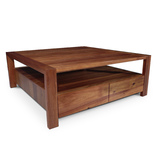 Lumino Tasmanian Blackwood Square Coffee Table
