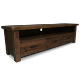 Yarra Glen Tasmanian Oak Hardwood Timber 1800 TV Entertainment Unit