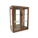 Abode Hardwood Full Display Cabinet