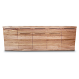 Elwood Tasmanian Oak 5 Door Sideboard Buffet