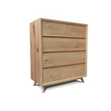 Felix Retro Scandinavian Oak Tallboy