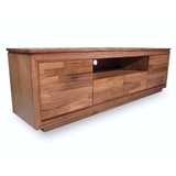 Rosebay Rustic Tasmanian Oak 2 Door Lowline TV Unit