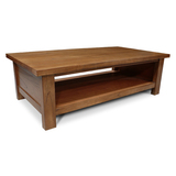 Stonybrook Mountain Ash Hardwood Open Coffee Table