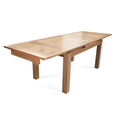 Tasmanian Oak 2000-3000 Extension Dining Table
