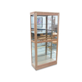 Large Tasmanian Oak Display Cabinet