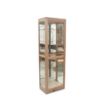 Small Tasmanian Oak Display Cabinet