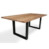 South Wharf Tasmanian Oak 2000 Dining Table