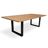 South Wharf Tasmanian Oak 2400 Dining Table