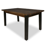 Zeus Scandustrial Recycled Timber 1500 Dining Table