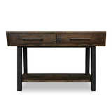 Zeus Scandustrial Recycled Timber Hall Table