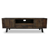 Zeus Scandustrial Recycled Timber 1850 TV Entertainment Unit