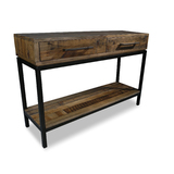 Colt Industrial Recycled Timber Hall Table