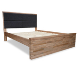 Alpine Rustic American Ash King Bed