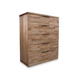 Alpine Rustic American Ash Tallboy Chest
