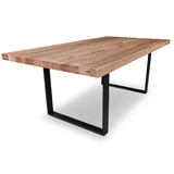 Stoke Tasmanian Oak 2000 Dining Table with Loop Legs