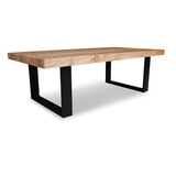 Stoke Tasmanian Oak Coffee Table with Loop Legs