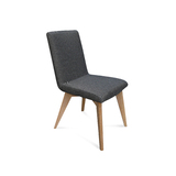 Tyson Fabric Dining Chair Natural Leg