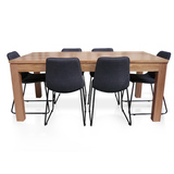 Elwood Tasmanian Oak 1800 Dining Set Package