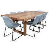 Bondi 2400 Tasmanian Oak Dining Package