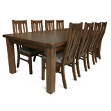 Yarra Glen 2400 Dining Set Tasmanian Oak Hardwood