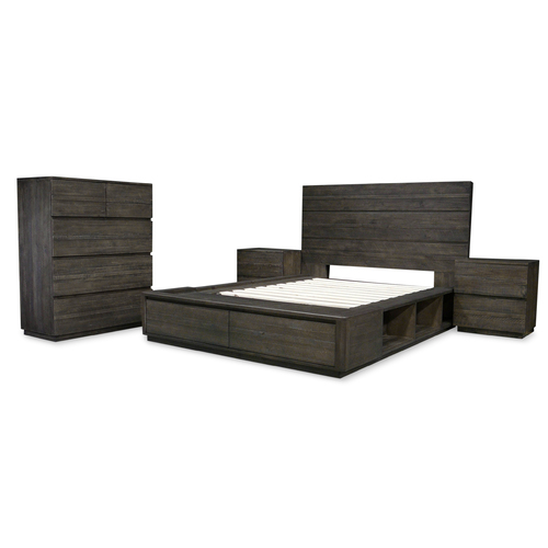 Xavier Recycled Timber Tallboy Bedroom Package